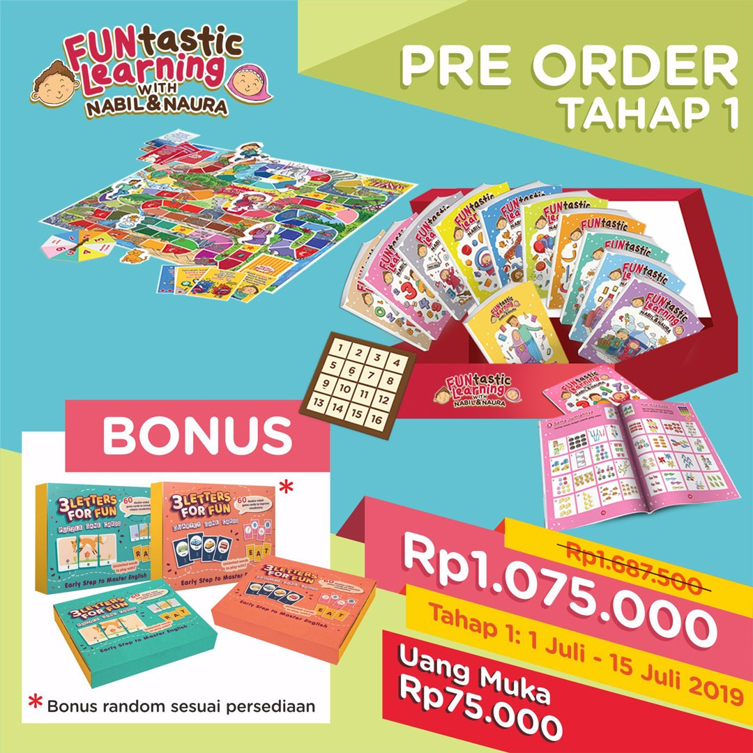 Pre Order FUNtastic Learning