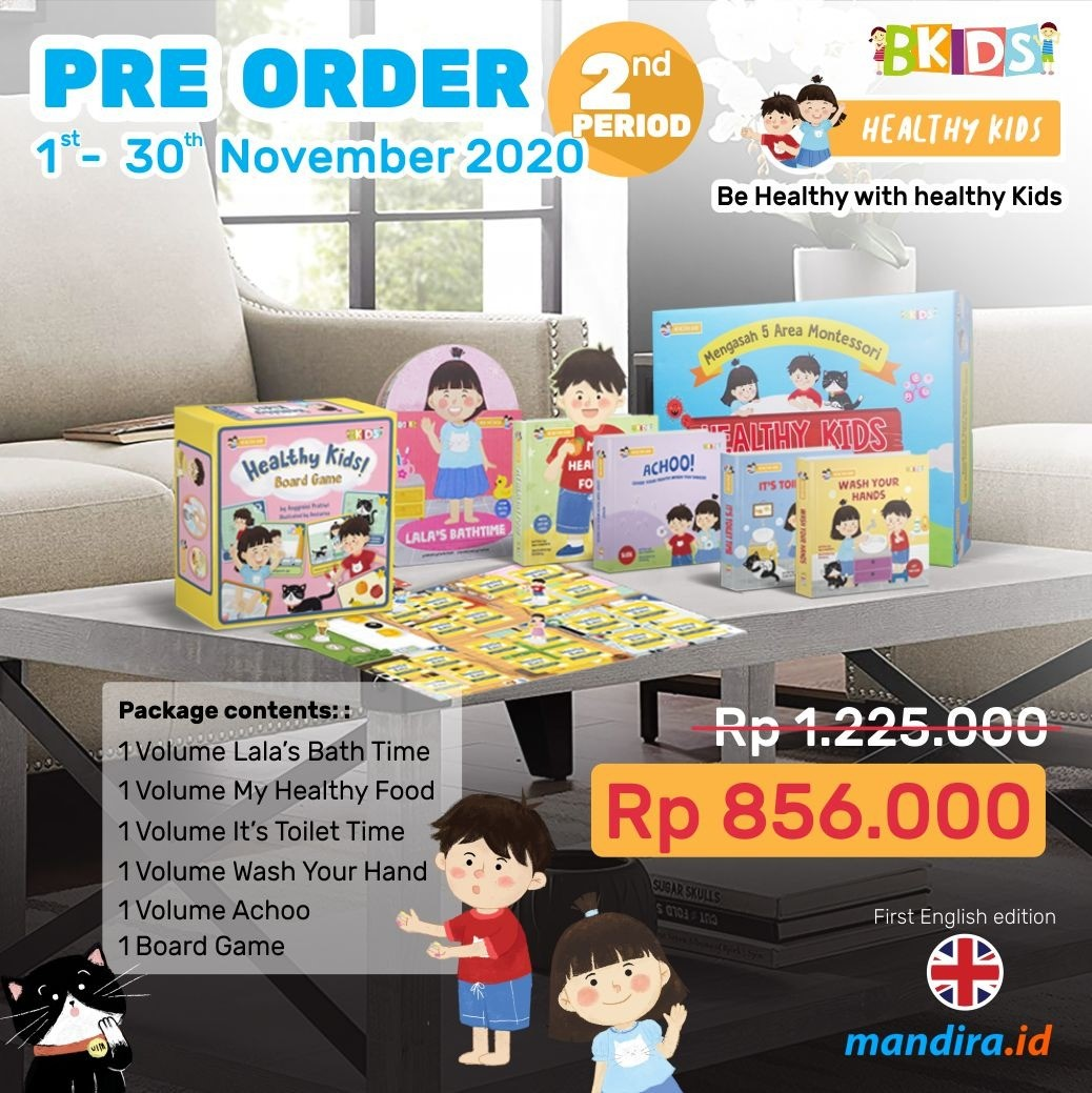 Order Now Healthy KIds ...