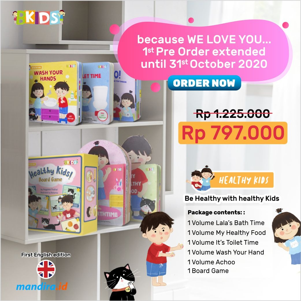 Order Now Healthy KIds